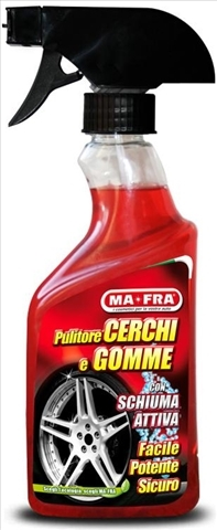Detergent Jante Si Anvelope 500 ml Pulitore CerchiGomme Italia Ma Fra