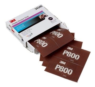 Coala abraziva flexibila hookit P800 pachet de 25 bucati 3M