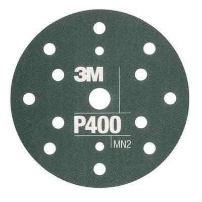 Disc abraziv flexibil hookit P400 pachet de 25 bucati 3M