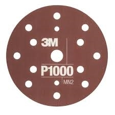 Disc abraziv flexibil hookit P1000 pachet de 25 bucati 3M