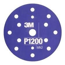 Disc abraziv flexibil hookit P1200 pachet de 25 bucati 3M