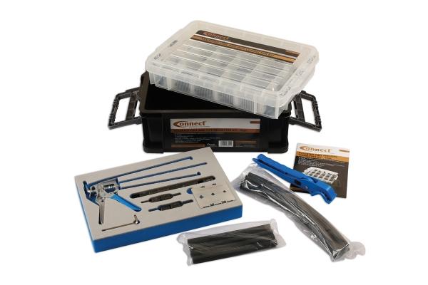 Set complet conectori conducte linie combustibil si instrument de introducere a conectorului pentru tevi Laser Tools