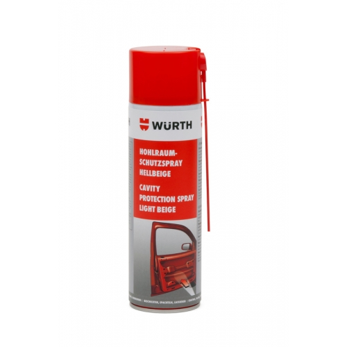 Ceara protectie cavitati transparenta 500 ml Wurth