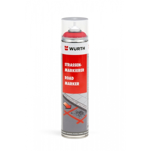 Spray marcaje rosu 600 ml Wurth