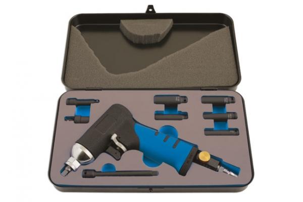 Kit demontare bujii incandescente, tubulare impact , 9 piese Laser Tools
