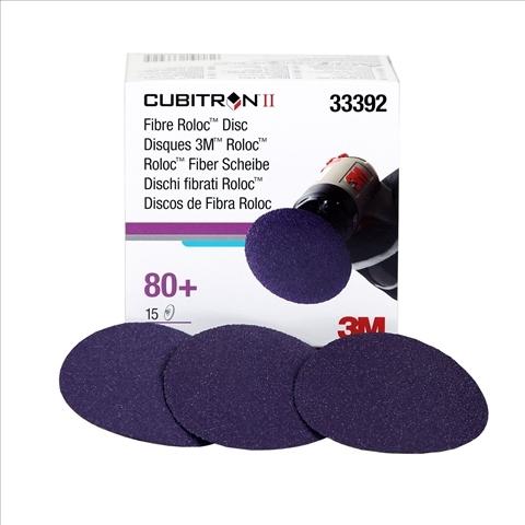 Set 15 discuri de fibra 3M Cubitron II Roloc Disc, 3