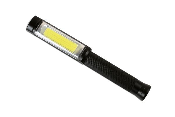 Lanterna tip stilou aluminiu , COB Laser Tools