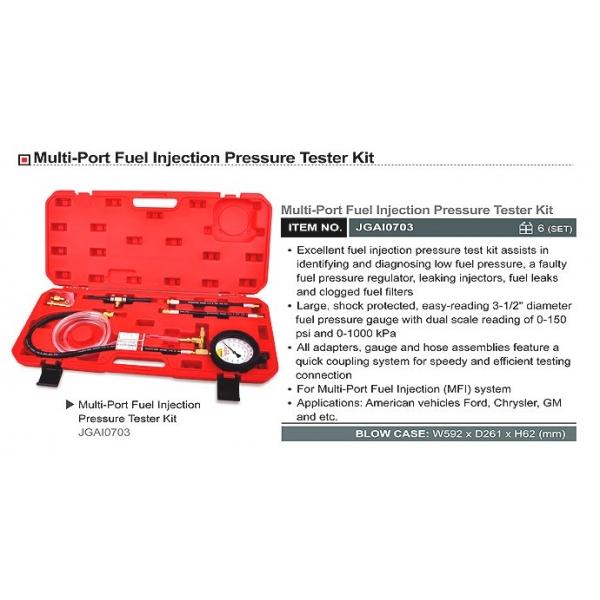 Kit masurare presiune combustibil 0-1000 kPa 0-150 psi
