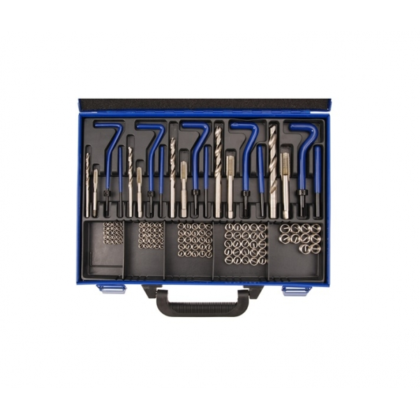 Set reparatii filete helicoil M5-M12, Force 130 piese
