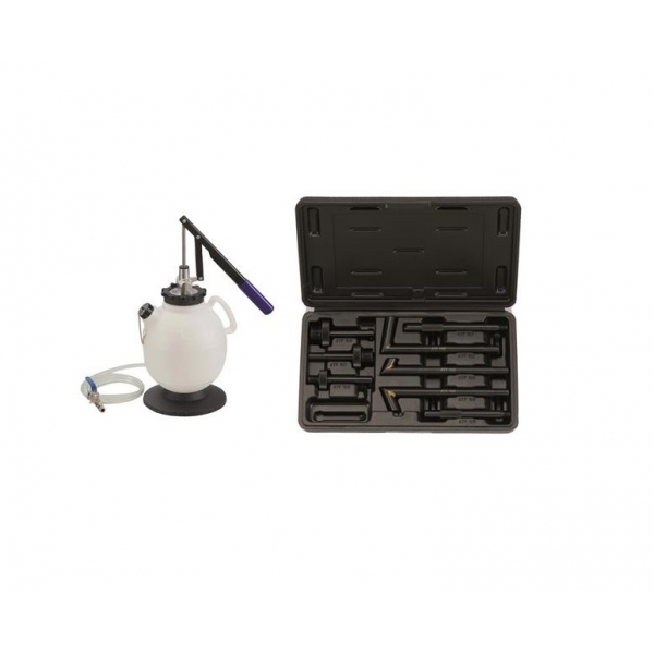 Kit 8 piese pompa manuala umplere ulei cutie de viteze, transmisie, diferential 7.5L, Force