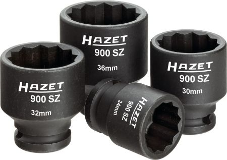 Set 4 tubulare bihexagon de impact 1 2 24-30-32-36 mm