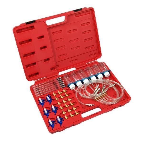Kit testare injectoare Common-Rail retur 24 adaptoare