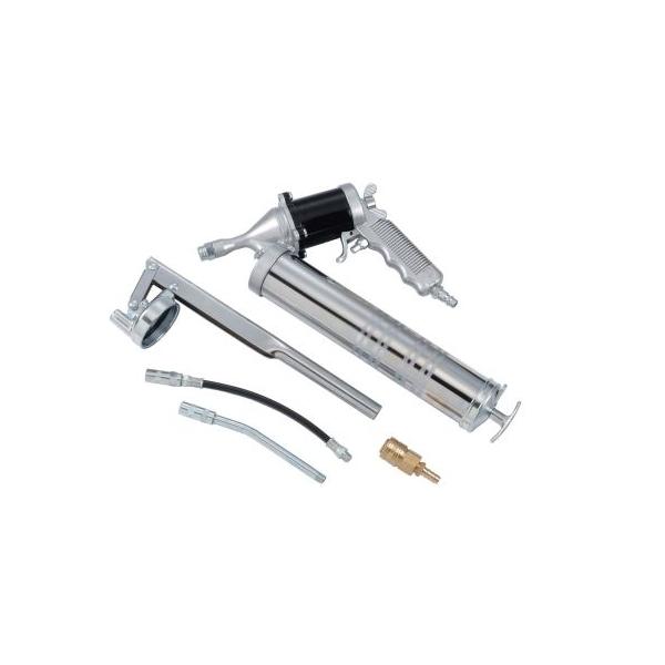 Pistol de gresat cu actionare pneumatica, capacitate 400 cc