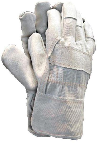 Set 12 perechi manusi protectie piele de inalta calitate captusite interior manseta denim marimea 10.5 ideale constructii industria grea mecanica