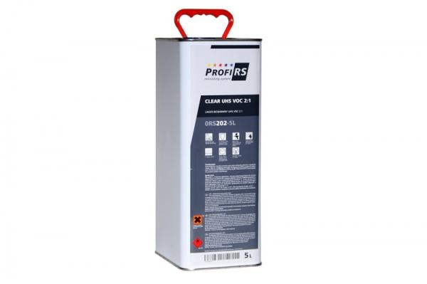 Lac transparent Clearcoat 2: 1 Filler UHS 5 litri fara intaritor