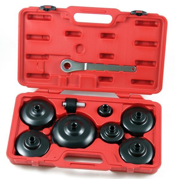 Set 9 piese chei filtru ulei cu adaptor si curea