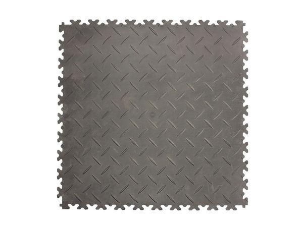 Panou podea placa negru 510x510x7 incarcare mare