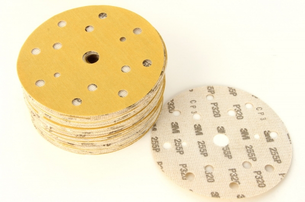 Disc abraziv Hookit P320 galben 100 bucati