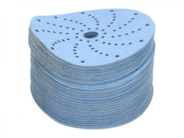 Disc abraziv Montana P180 albastru 100 bucati