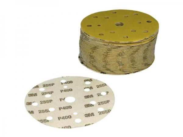 Disc abraziv Hookit P400 galben 100 bucati