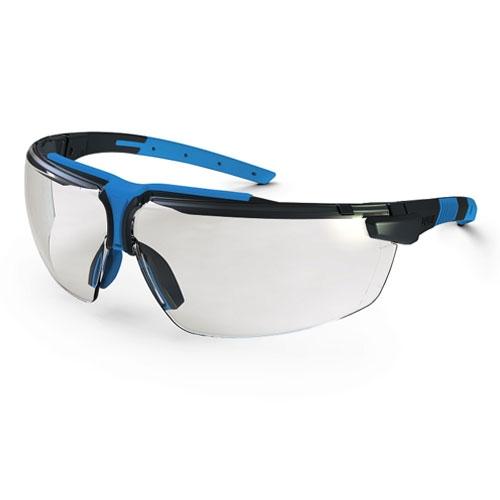 Ochelari protectie Uvex lentile transparente cadru albastru