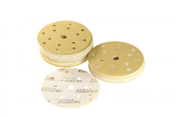 Disc abraziv 150 mm gradare 15 gauri P180 100 bucati