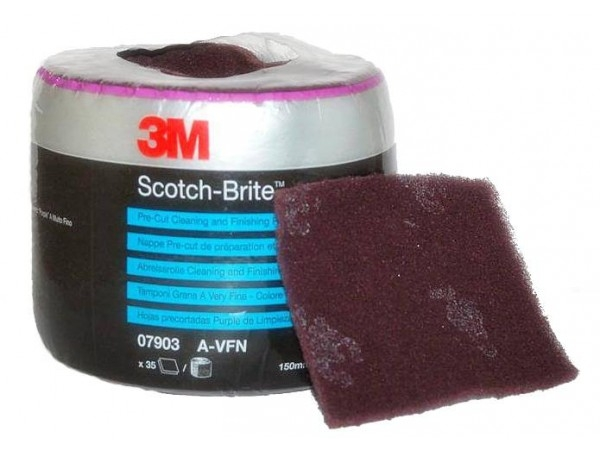 Disc burete Scotch Brite 115mmx150mm foarte fin 35 coli