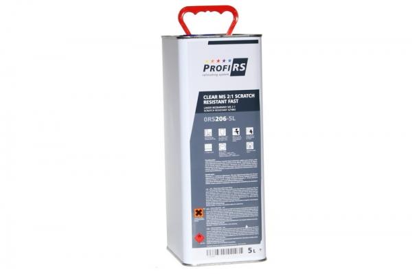 Lac transparent Clearcoat 2: 1 MS Filler rapid 5 litri fara intaritor