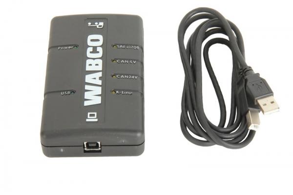 Inferfata diagnoza Wabco ABS EBS Tip USB 2.0 DI-2 camioane