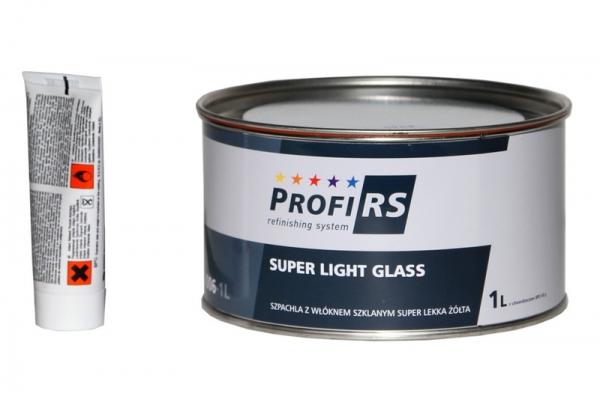 Fuller fibra sticla 1 litru Super Light galben