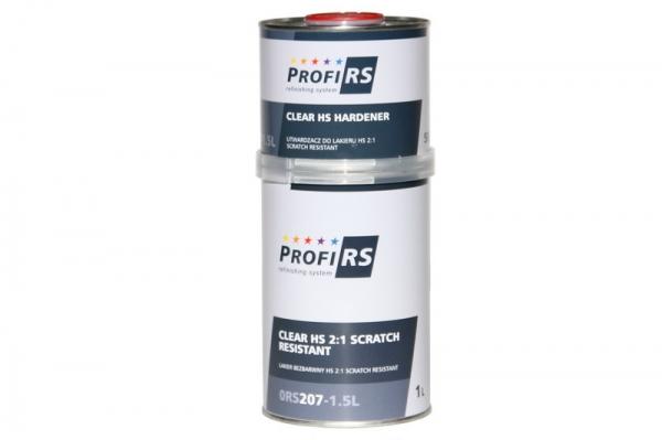 Lac transparent Clearcoat 2: 1 Filler HS 1,5 litri cu intaritor