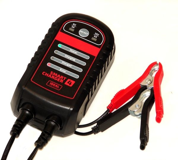 Redresor curent incarcator acumulator Ideal 2 4A 6 12V baterii acid , AGM Gel