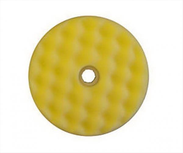 Burete galben valurit cu fata dubla-Quick Connect 150mm 3M