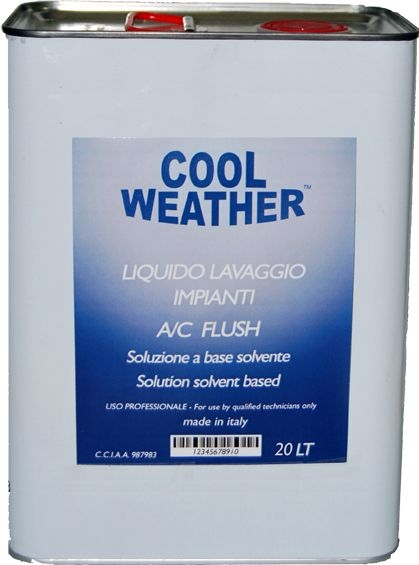 Solutie spalare sistem climatizare aparat ultrasunete 20 litri
