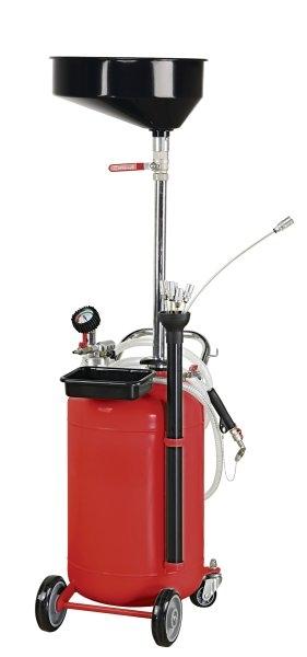 Recuperator ulei gravitationale si absorbtie cu set tuburi aspiratie 90 litri