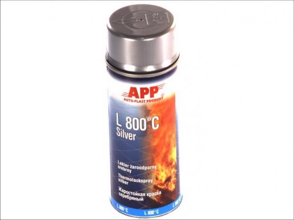 Spray gri rezistent temperaturi inalte 800 grade 400 ml