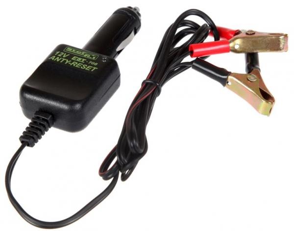 Dispozitiv mentinere tensiune in timpul inlocuirii acumulatorului 12V conectare bricheta auto 2.5 m