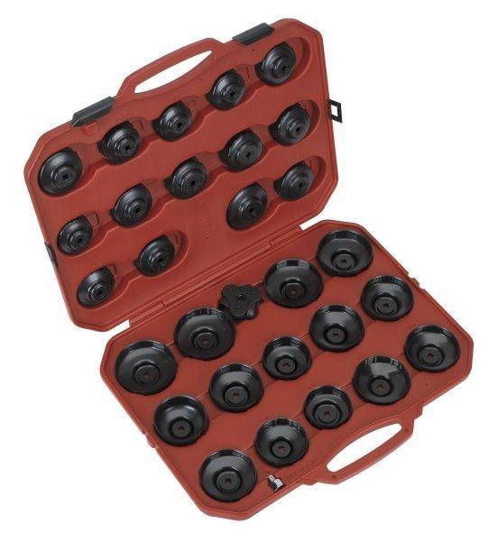 Set 30 chei filtru ulei cu o cheie 3 brate