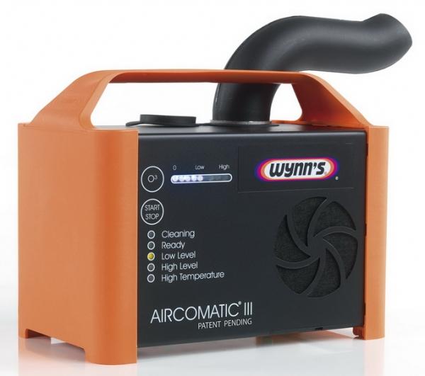 Aparat ultrasunete Generator ozon dezinfectare igienizare habitaclu masinii include set 12 bucati solutie AIRCO-CLEAN si AIR PuRIFIER WYNN S