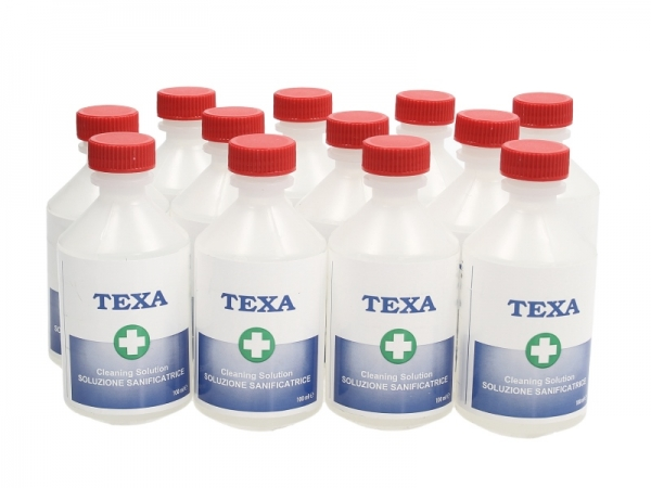 Set 12 bidonase agent curatare dezinfectant Texa Air + Mist Texa