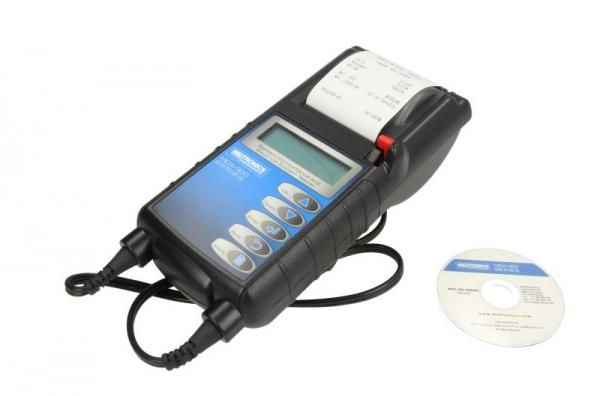 Tester baterie 12V MDX-335P 100-900 EN baterii AGM Gel Umed imprimanta
