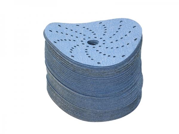 Disc abraziv Montana P80 albastru 100 bucati
