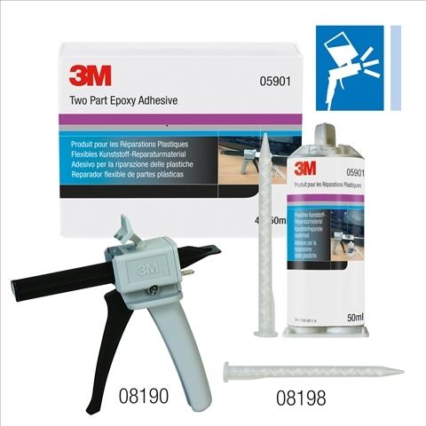 Aplicator adeziv manual reparatii plastic 3M