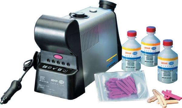 Dispozitiv curatare igienizare habitaclu auto Hella Evidis cu 24 bucati substanta
