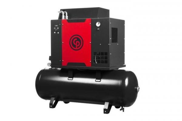 Compresor aer cu surub si uscator 500L
