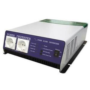 Conversor profesional DC AC 12-24V 1200W