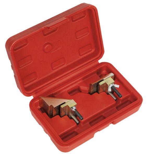 Dispozitiv inlocuirea curelei auxiliare cu caneluri