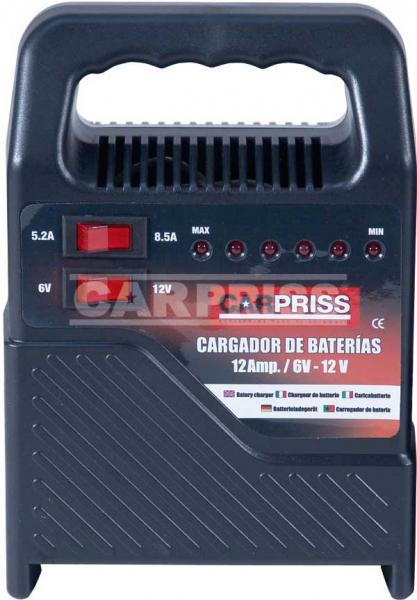 Incarcator baterii 6 12V 12Amp