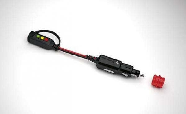 Indicator incarcare autovehicul prin conector bricheta maxim 7A