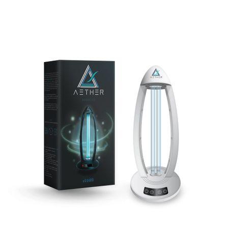 Lampa sterilizare AETHER oGuard UV-C OZON 38w ALB